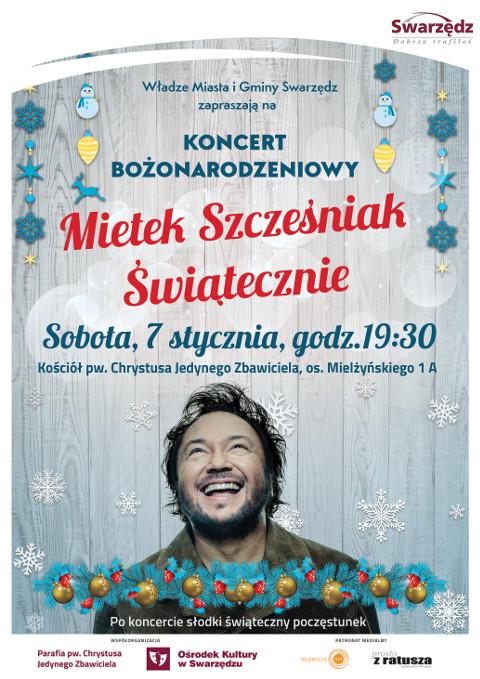 Koncert Mietka Szcześniaka 07.01.2017